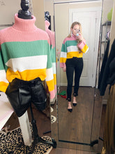 Load image into Gallery viewer, cropped neapolitan sweater