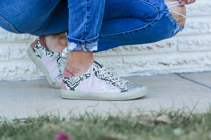 'she's spunky' sneakers