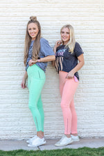 sweet sherbert leggings