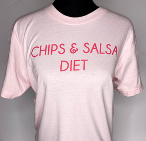 chips + salsa diet tee