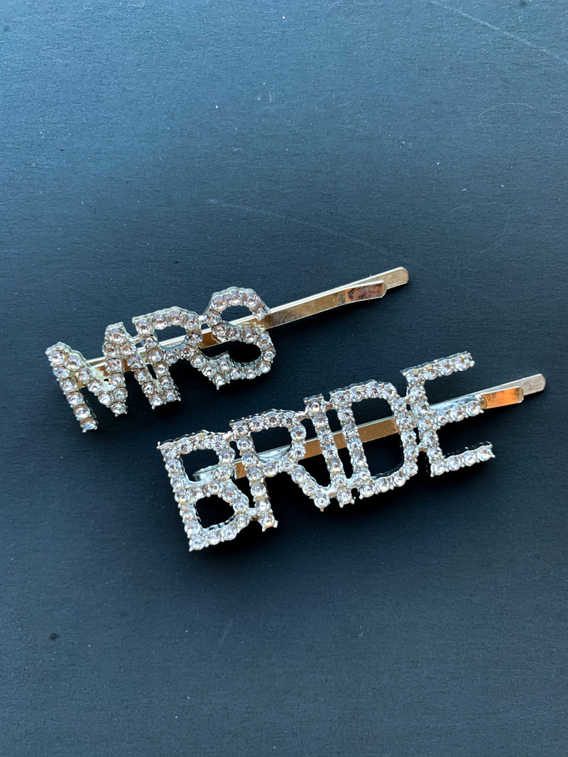 bride hair pins