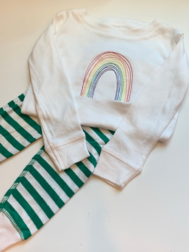 SIZE 3T - striped pj's