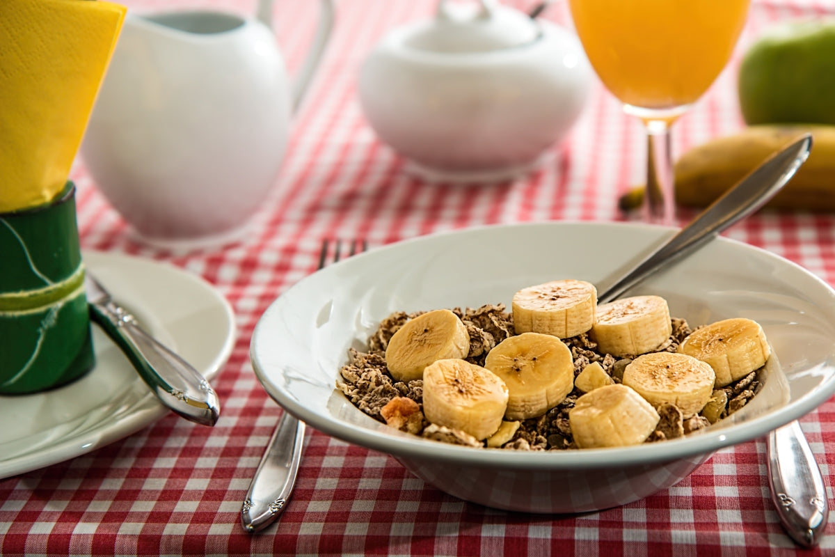 Bananas and cereal