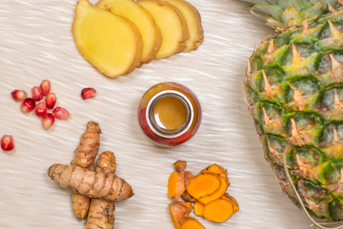 Image of Pineapple, Ginger and Turmeric Shot