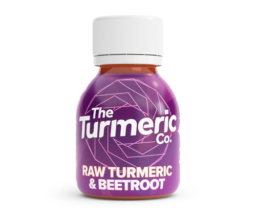 Turmeric Co Raw Turmeric and Beetroot Shot Box