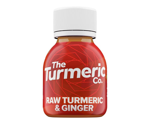Turmeric Co Raw Turmeric and Ginger Shot