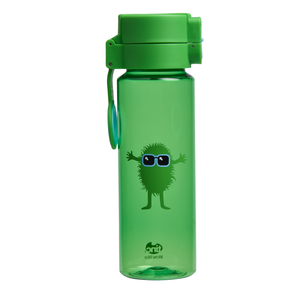 Green Flip and Clip Water Bottle