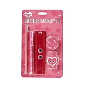Glitter Stationery Gift Set