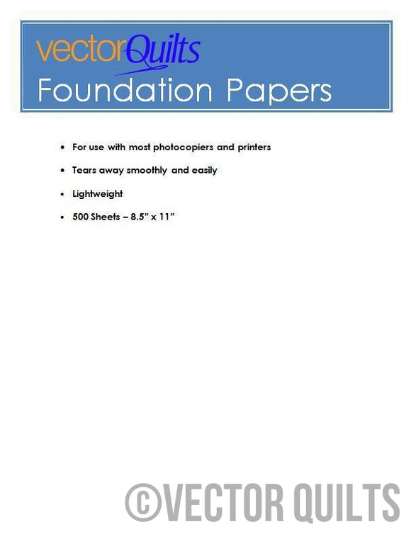 Foundation Paper - 500 sheets
