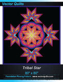 Tribal Star Foundation Pattern