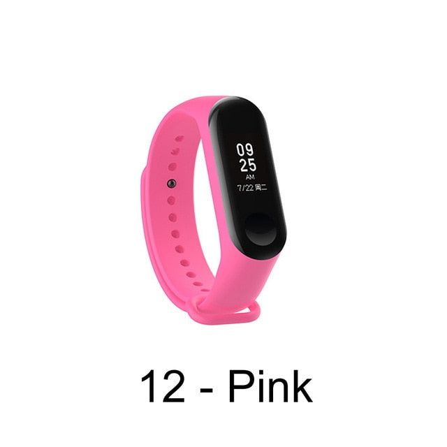 Replacement Color Strap For Xiaomi Mi Band 3 4