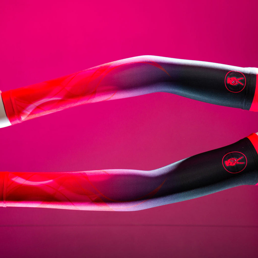 FIRE & FLAME CYCLING ARM WARMERS