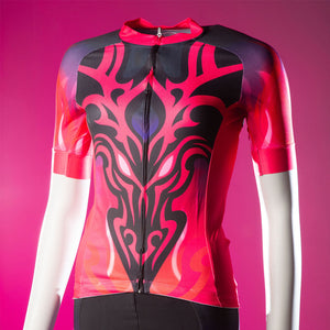 FIRE & FLAME SHORT SLEEVED CYCLING JERSEY