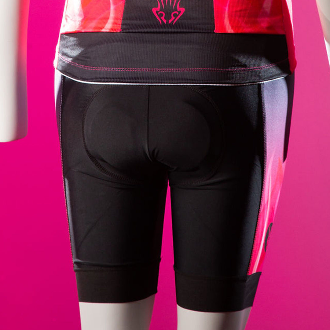 FIRE & FLAME CYCLING SHORTS