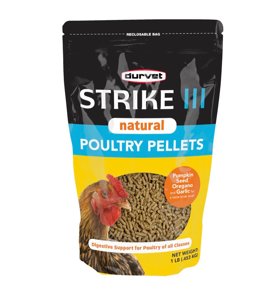 Strike III Natural Poultry Wormer