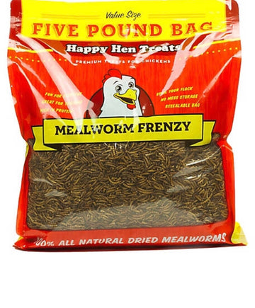 Happy Hen Mealworm Frenzy Treats 5lb