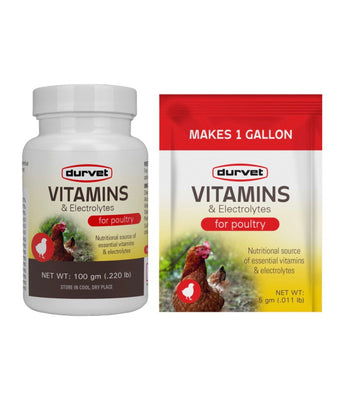 Vitamins & Electrolytes for Poultry