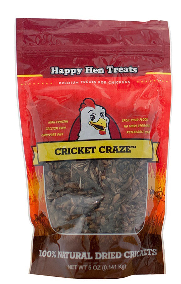 Happy Hen Cricket Craze Treats 5oz