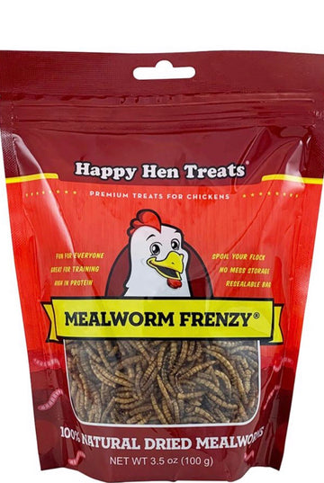 Happy Hen Mealworm Frenzy Treats 30oz