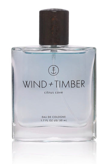 Wind + Timber Cologne-Citrus Cove