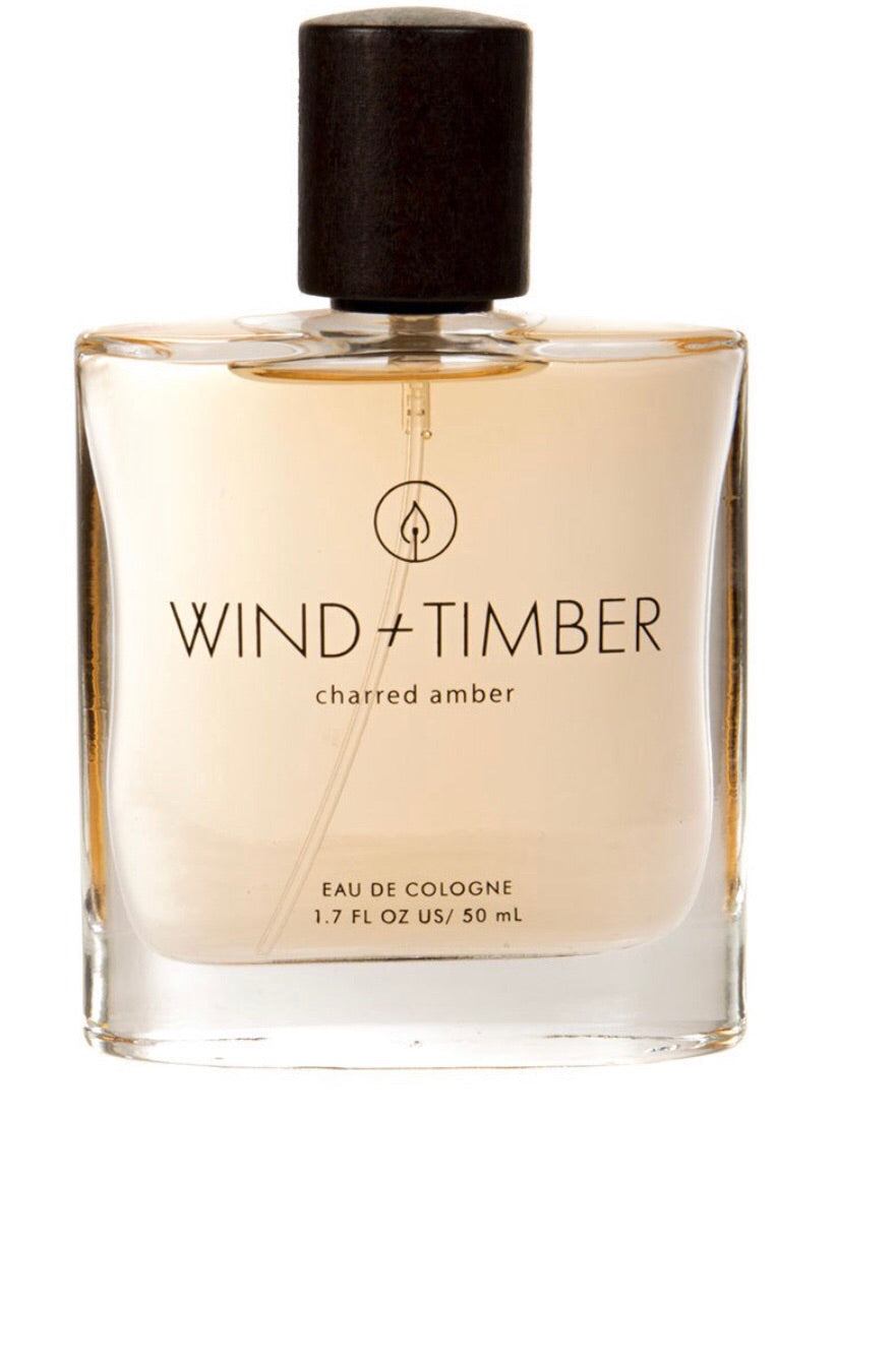 Wind + Timber Cologne-Charred Amber
