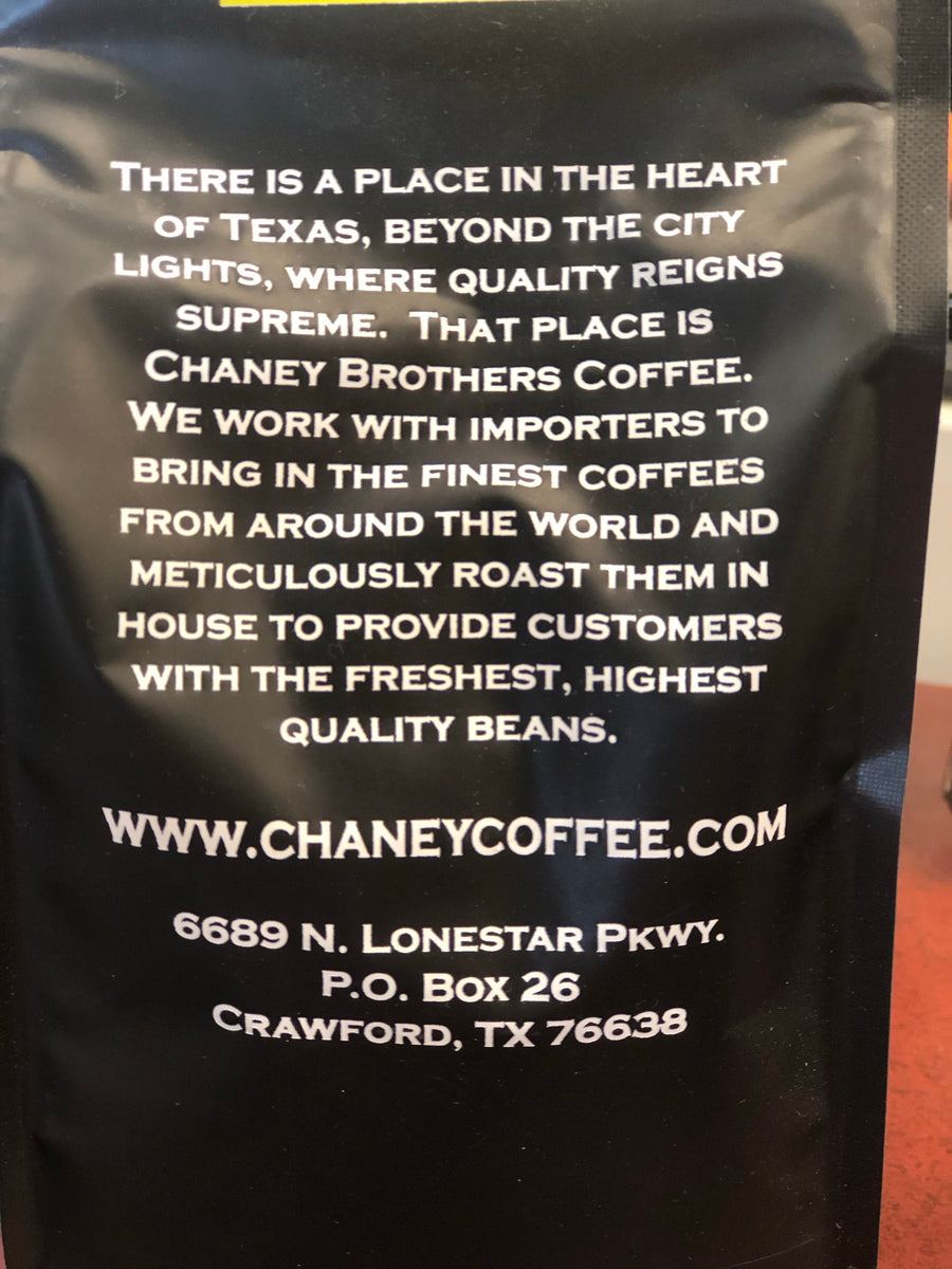 Chaney Bros. Coffee Peru