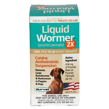 Durvet Liquid Wormer 2X