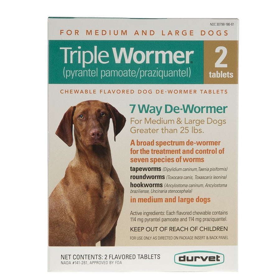 Triple Wormer Medium/Large Dog