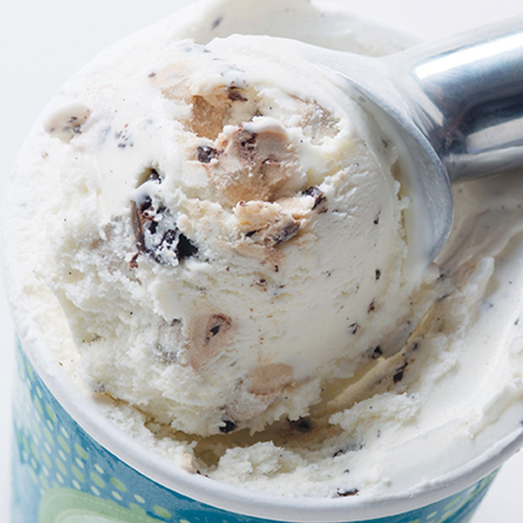 1 Pint - Vanilla Ice Cream with Chocolate Chips & Cookie Dough - eCreamery