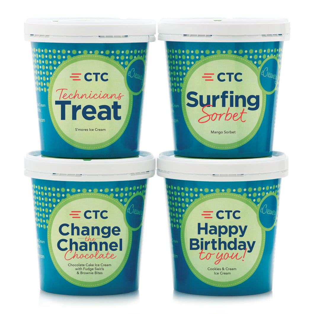 CTC Corporate Collection - 4 Pints - eCreamery