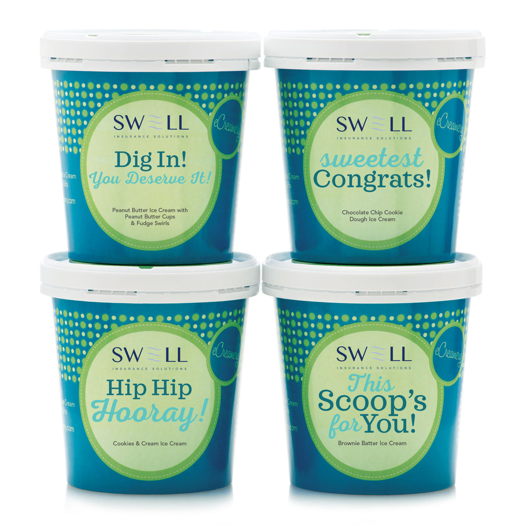 Swell Insurance Solutions Congratulations Corporate Collection - eCreamery