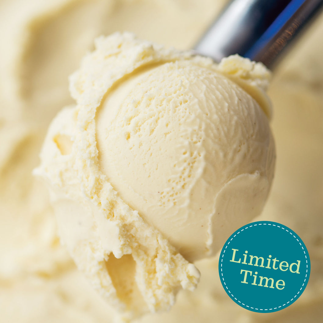 Eggnog Ice Cream (Limited Time)