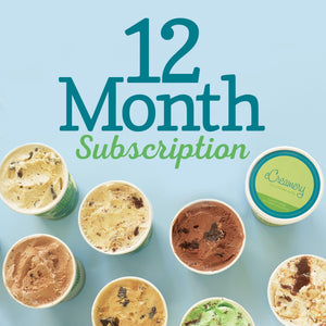 12 Month Subscription to Flavor of the Month Club - eCreamery