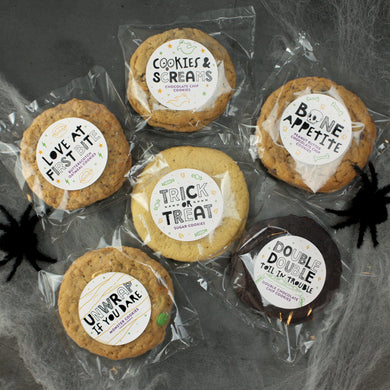 Halloween Cookie Collection - 12 Gourmet Cookies
