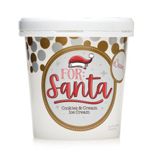"Load image into Gallery viewer, 1 Pint - ""For Santa"" Cookies & Cream Ice Cream"