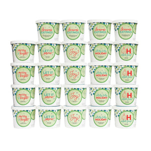 Holiday Officee Ice Cream Collection - 24 Party Cups