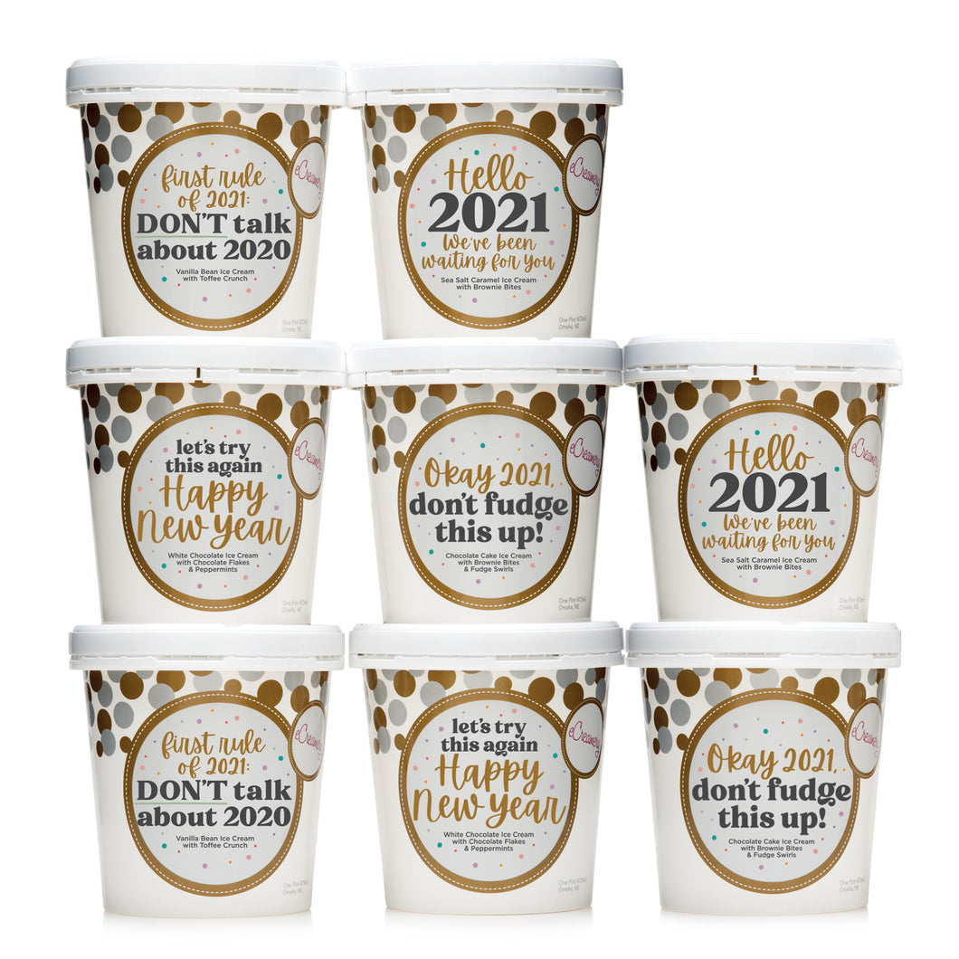 Hilarious New Year's Ultimate Collection - 8 Pints