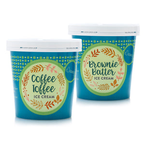 2 Pint Collection - Coffee Toffee & Brownie Batter
