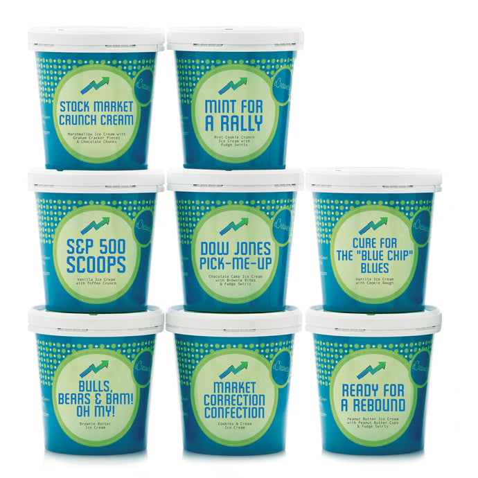 Stock Market Ultimate Ice Cream Collection - eCreamery