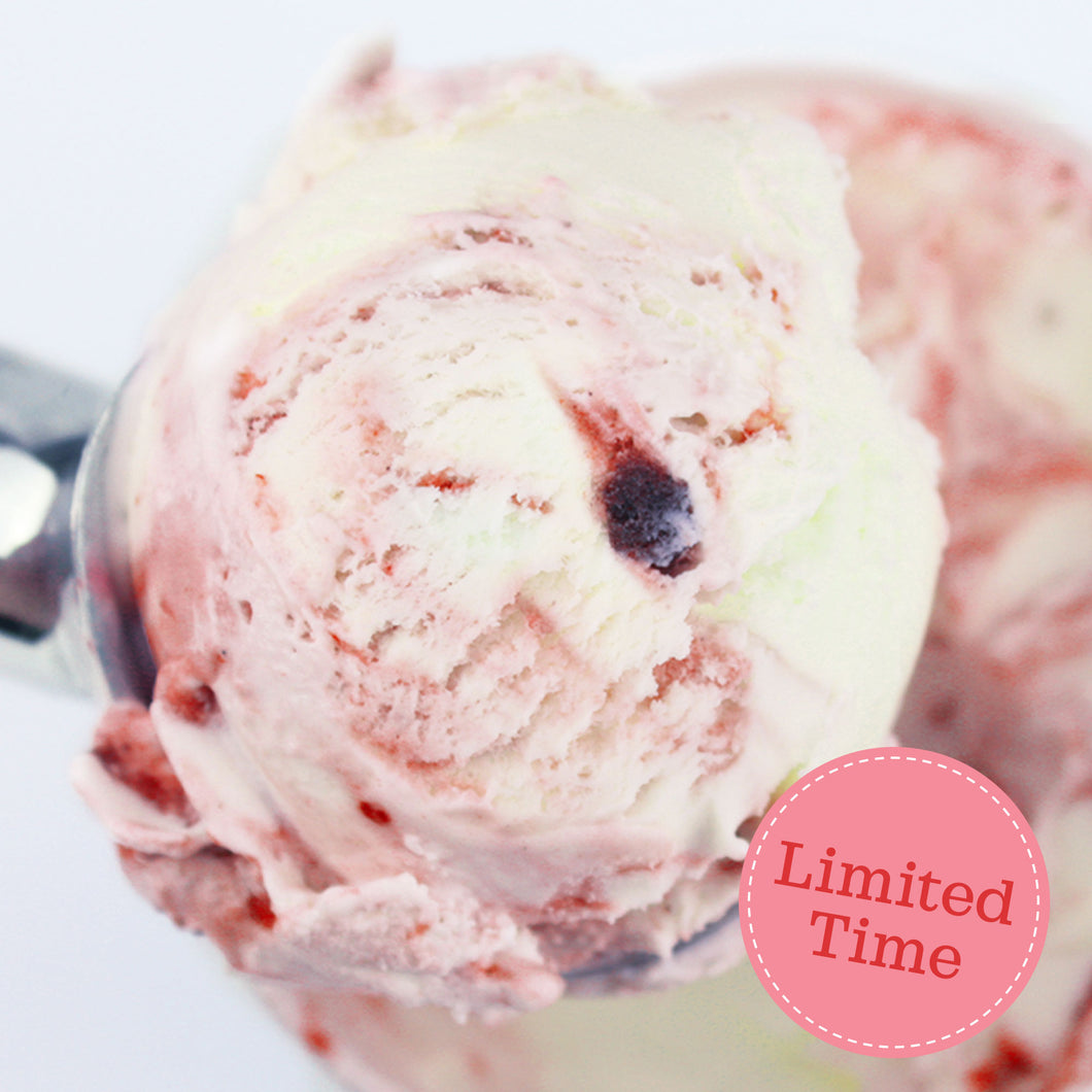 Triple Berry Ice Cream - Limited Time Flavor - eCreamery