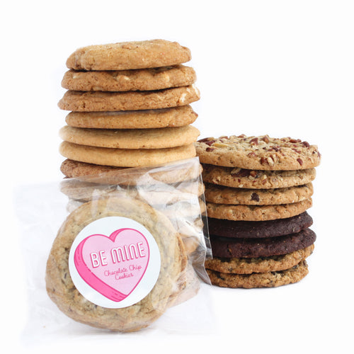 Valentine's Day Cookie Collection - 24 Gourmet Cookies