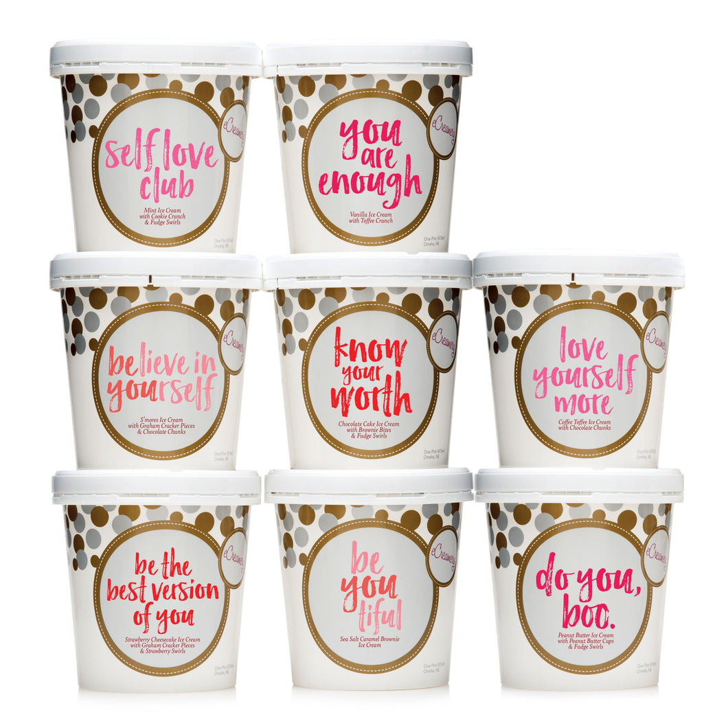 Ultimate Self Love Ice Cream Collection