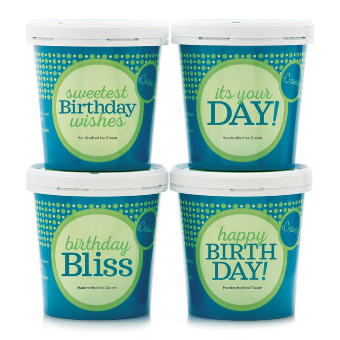 Birthday Classic Ice Cream Collection - eCreamery