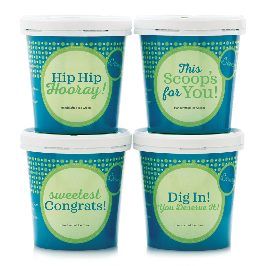 Congratulations Premium Ice Cream Collection - eCreamery