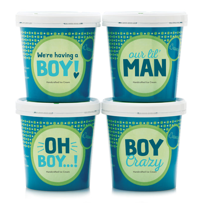 It's a Boy! Premium Ice Cream Collection - eCreamery