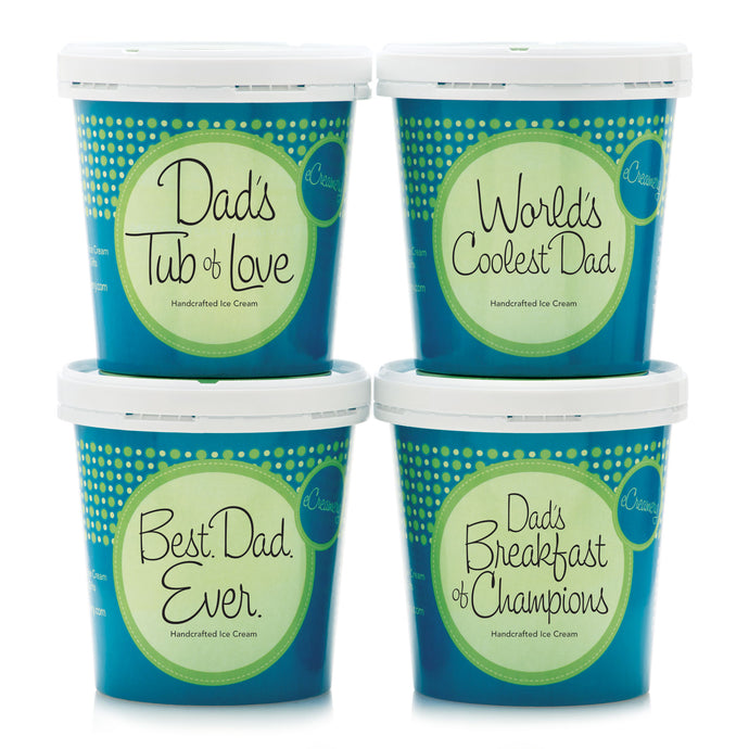Just For Dad Premium Ice Cream Collection - eCreamery