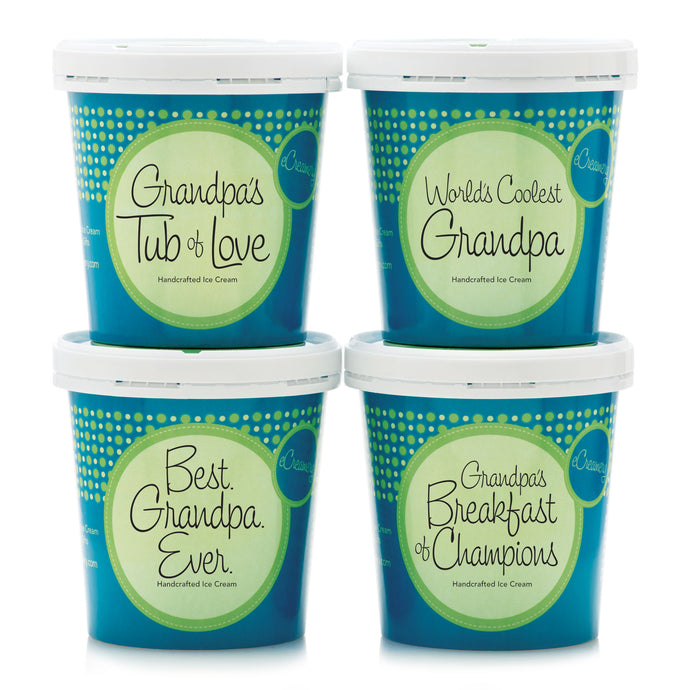 Just For Grandpa Premium Ice Cream Collection - eCreamery