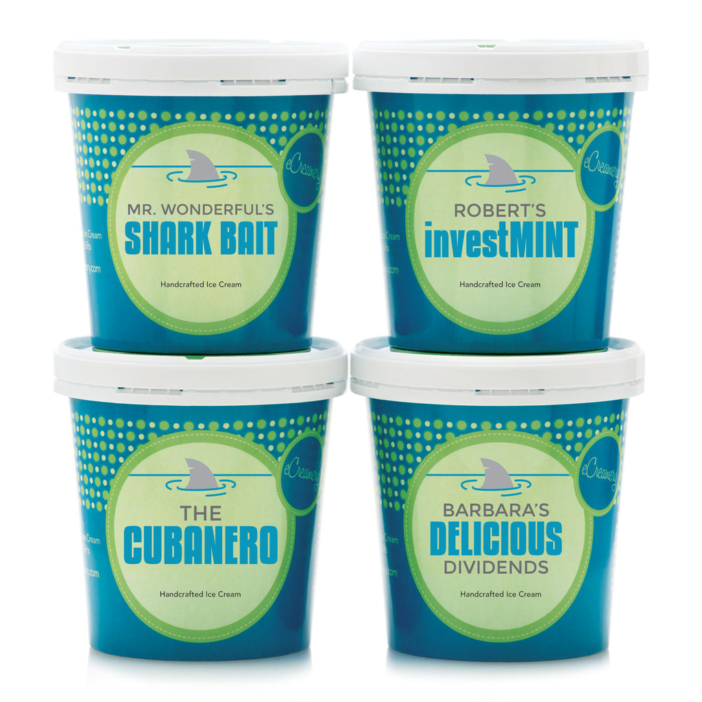 $59.99 (reg $70) eCreamery Shark Tank Collection Ice Cream!