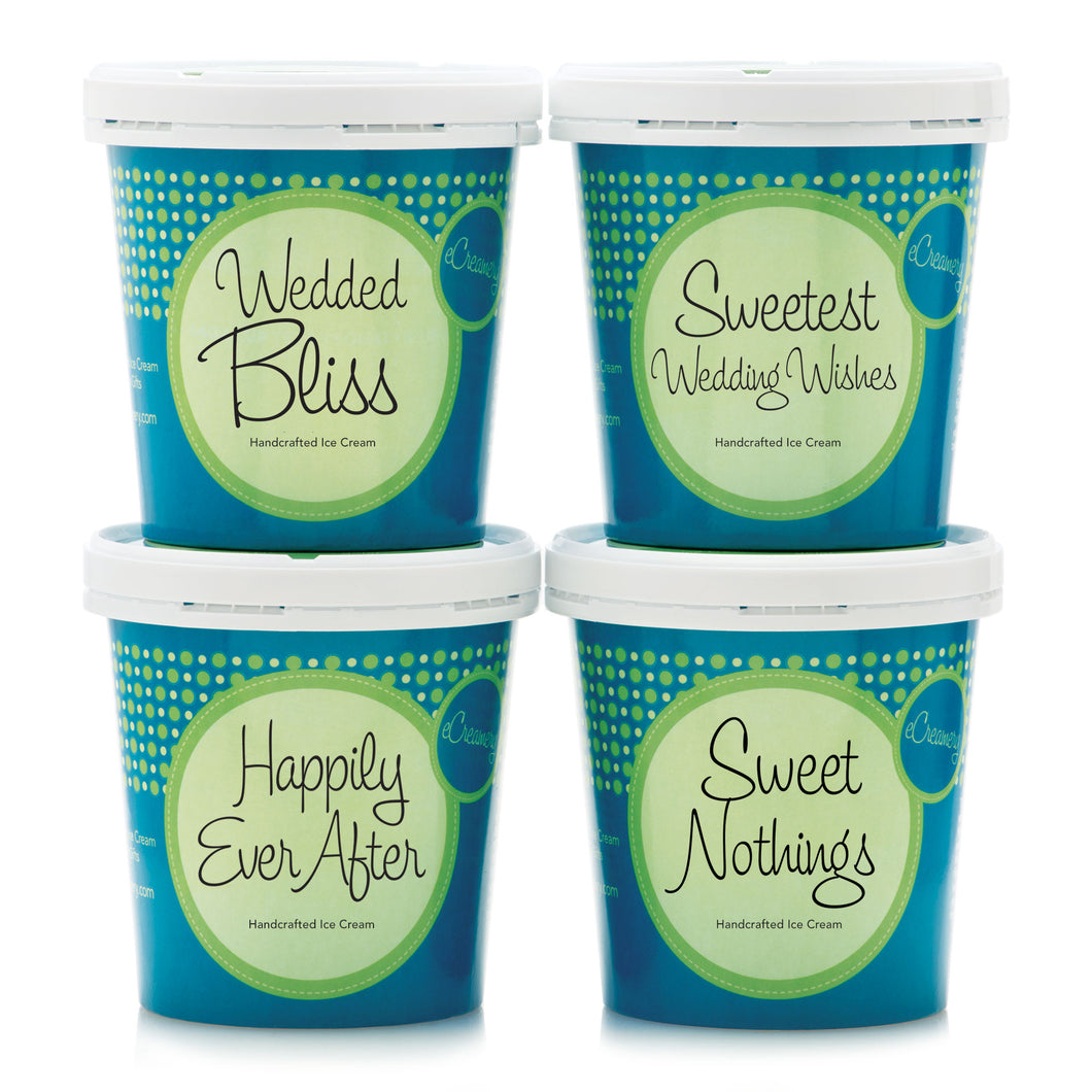 Wedding Classic Ice Cream Collection - eCreamery