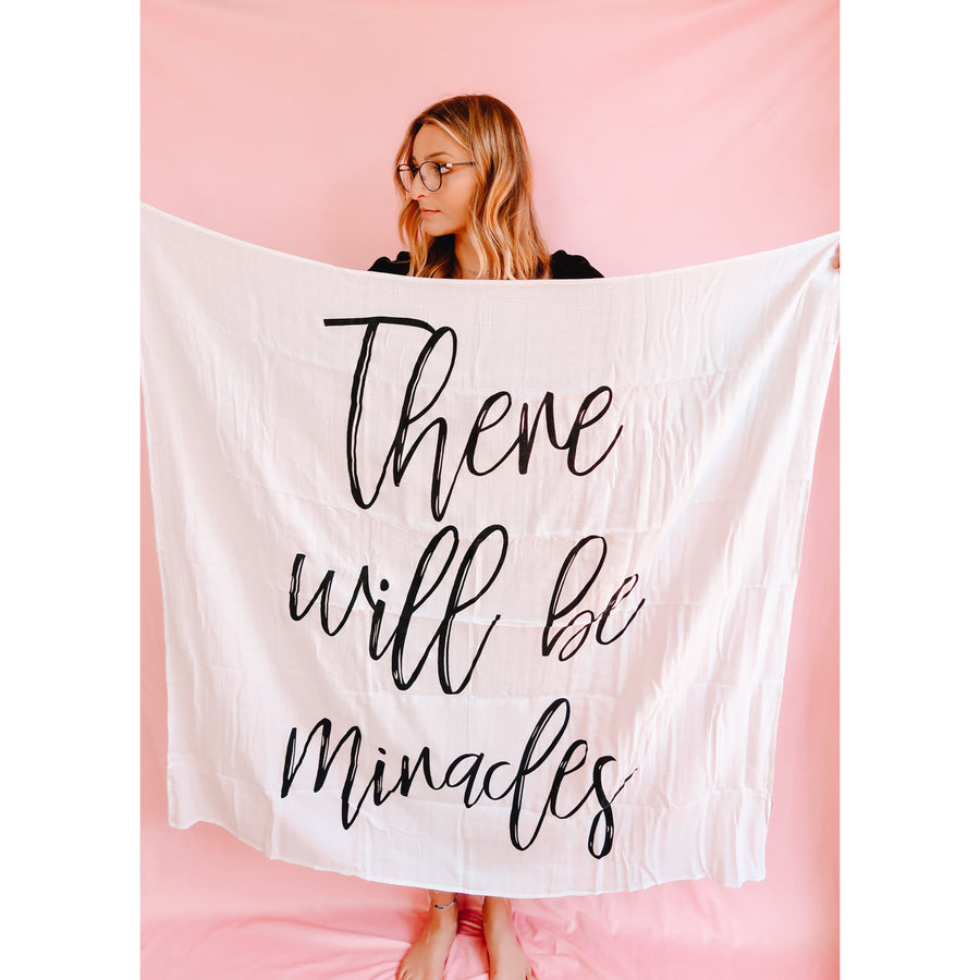 There Will Be Miracles Tapestry
